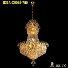Factory made hot-sale for Decorate Hanging Chandelier gold vintage chandelier crystal lighting export to Japan Factories