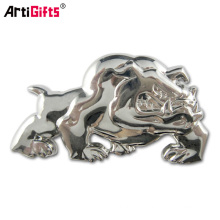 China factory supply custom metal car badge emblem