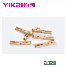 Conjunto superior de la venta de 24 piezas de madera de pino pegs impermeabilización de insectos