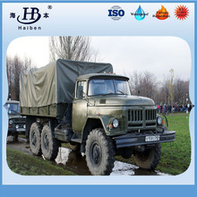 Army green polyester tarpaulin sheet with eyelets for cover