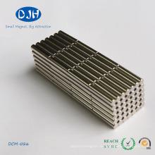 Цилиндрические редкоземельные материалы Неодимиевый железный бор магнит