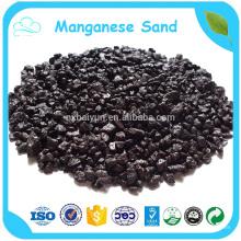 Vente en vrac de médias de filtre à eau de sable de manganèse