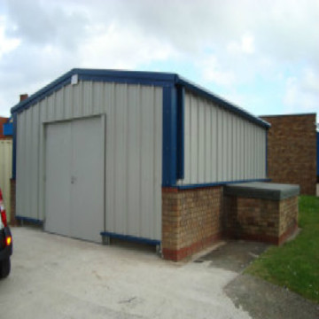 Prefabricated Steel Structure Building for Industrial Application