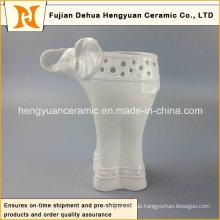 Hausdekorationen Keramik Elefantenform Vase (Gartendekoration)