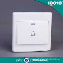 Igoto British Standard D3091 Push Button Electrical Door Bell Wall Switch