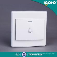 Interruptor elétrico da parede do sino da porta do botão de Igoto padrão britânico D3091