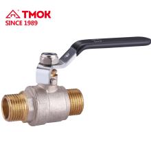 Macho * Rosca macho 1/2 pulgada válvula de bola de agua de latón para su buen negocio en TMOK