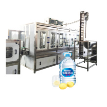 Оборудование для розлива и укупорки больших бутылок 3 л 5 л