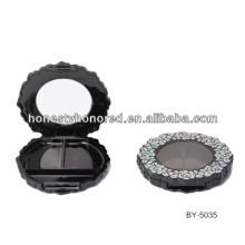 Nueva llegada de cosméticos empaquetado sombreador de ojos de plástico