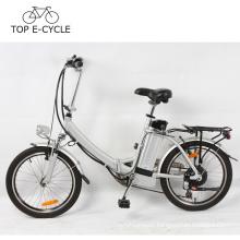 Silverfish battery 2017 electric bicycle Korea E-bike 20inch folding bike