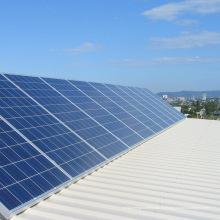 Sistema de panel solar 200KW Soporte de montaje triángulo solar ajustable