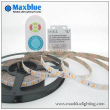 Samsung 5630 CCT luz de tira flexible ajustable del LED con el regulador