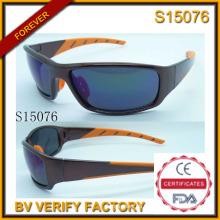 Moda 2015 nuevos deportes gafas de sol con muestra gratis (S15076)