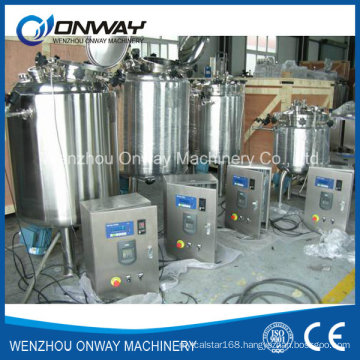 Pl Stainless Steel Jacket Emulsification Mixing Tank Oil Blending Machine Mixer Sugar Solution Mixing Tanks