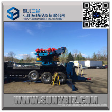 Heavy Duty 50 Ton Sliding Rotator Road Wrecker Upper Body