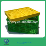 cheap colored folding plastic laundry baskets Crate