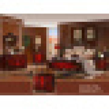 Cama para mobília clássica do quarto (W816)