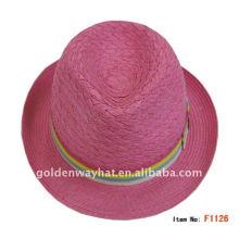 Billig neueste Fedora Hüte von Papier gemacht