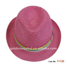 cheap newest fedora hats made by paper