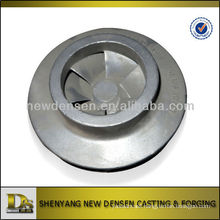 high quality investment casting close impeller for centrifugal pumps