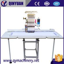 QY-1-CT máquina de bordado comercial de bordado de una sola cabeza