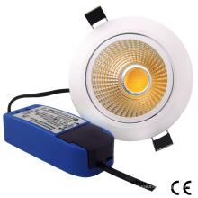 15W COB LED Dimmable Light Down LED Plafonnier Panneau LED