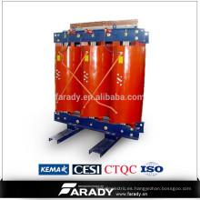 11kv 200kva resina de resina de tipo seco precio del transformador de energía eléctrica de SCB10