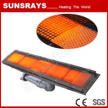 Peças de aquecedor a gás infravermelho para máquinas de secagem de roupa
