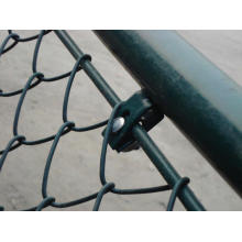 Safety area chain link fence