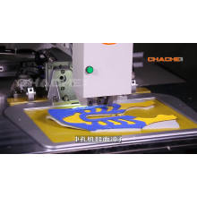 industrial hole punching sewing machine