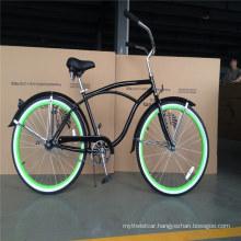 USA Popular Classic Single Speed Adult Mens 26 Inch Beach Cruiser Bike