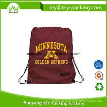 Barato precio Hombro Camping mochila con cordón Mochila