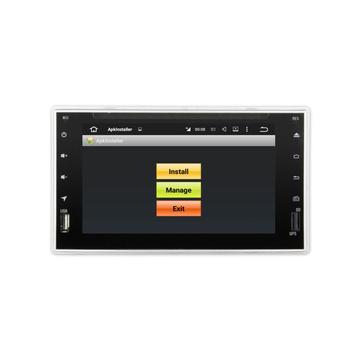 6.2 inch universal car dvd player