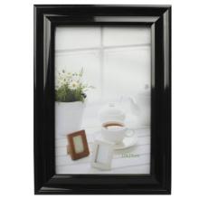 Klassische 4 x 6 Zoll PVC Fotorahmen schwarz