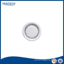 Ceiling return air disc valve