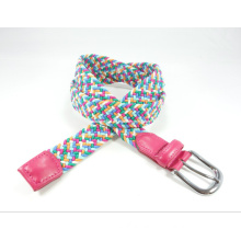Fashion Elastic Woven Waist Belt for Women