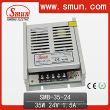35W 24V1.5A Kunststoffgehäuse Ultra Schaltnetzteil