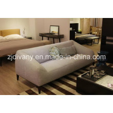 Modern Style Living Room 2 Seats Fabric Sofa Furniture (D-76-B)