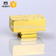 zamac luxury perfume square end caps