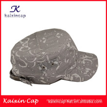 manufacturer promotion fashion curved brim desigh your own grey army caps and hats top quality wholesale