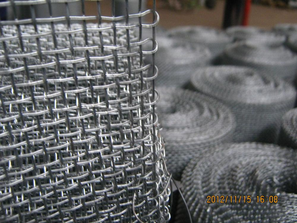 Crimped Wire Mesh Closed Edga