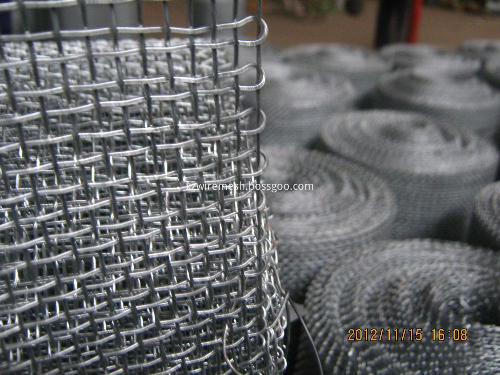 Crimped Wire Mesh Closed Edga