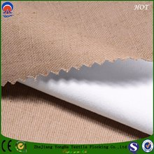 Flame Retardant Blackout Polyester Fabric for Window Curtain