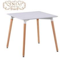 Tabela de jantar retangular da tabela elegante da forma da mobília do restaurante