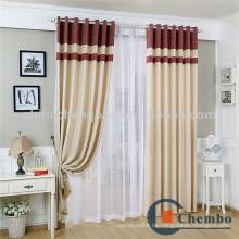 Moderne reine Farbe Knoten Vorhang Quaste Chenille Schweißen Vorhang