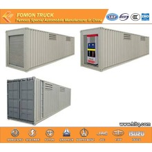 Container gas station 40000L semi-trailer