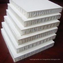 Paneles de cuerpo de camión de panal de fibra de vidrio con revestimiento de gel