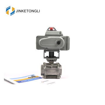JKTLEB079 electrically actuated water lever air vent ball valve