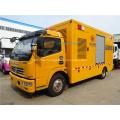 80kw-100kw Mobile emergency power car