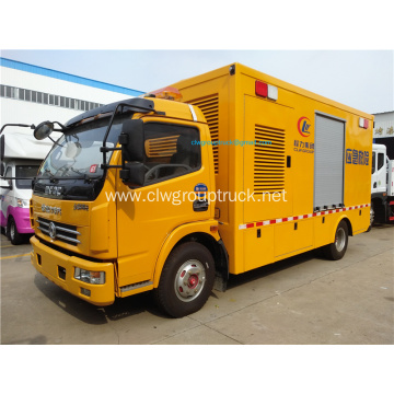 80kw-100kw Mobile emergency power car